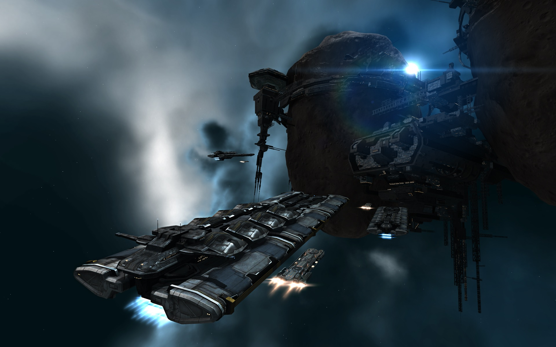 Space Truckers – Eve's Unsung Heroes – The Neocom