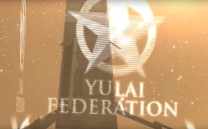 The Yulai Federation banner.